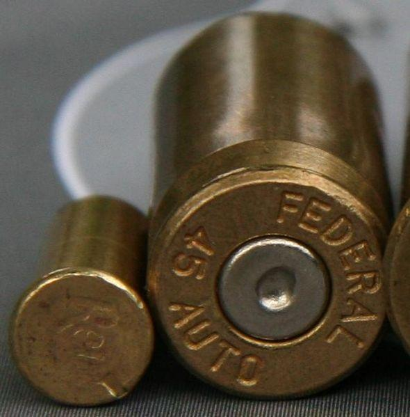 Fire Cartridges, Rimfire (Left) and Centerfire (Right)