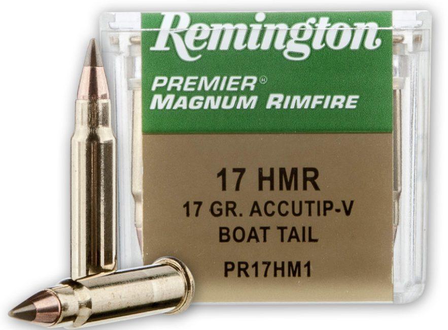Remington 17gn  .17 HMR AccuTip-V 50 Rounds