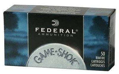 Federal Game-Shok .22LR Shotshell #12 Shot