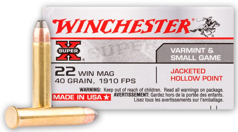 Winchester 40gn .22 WMR - 50 Rounds