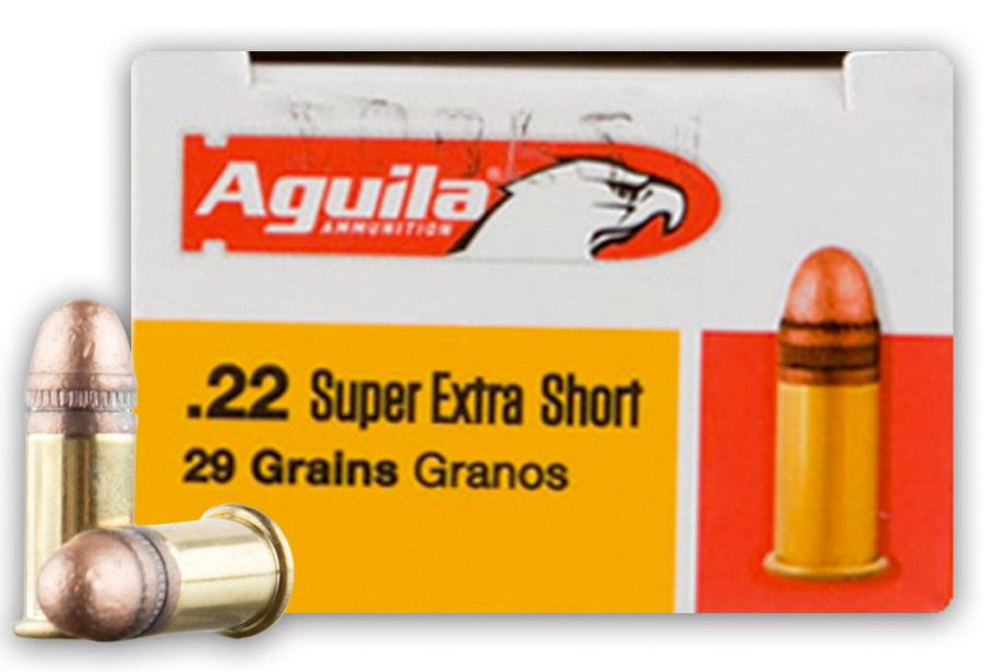 Aguila High Velocity 29gn .22 Short - 50 Rounds