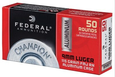 Federal Aluminum Case 115gr