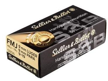 Sellier & Bellot 115gr