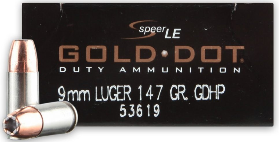 Speer Gold Dot 9mm 124gr