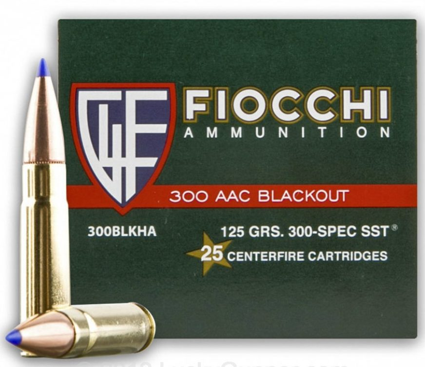 Fiocchi 300 AAC Blackout 125gr SST