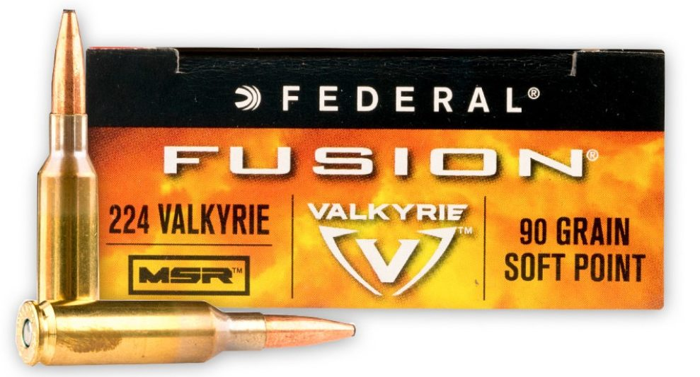 Federal Fusion .224 Valkyrie
