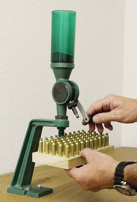 measuring powder reloading