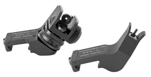 Dueck Defense Rapid Transition Sight - 45 degree offset