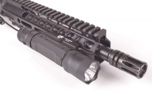 Ozark Armament Rifle Light Mounted