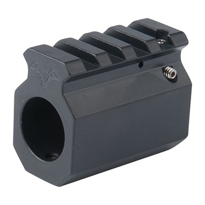 DoubleStar Pic Rail Adjustable Gas Block