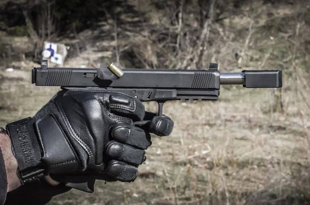 Glock with Lone Wolf Comp 1