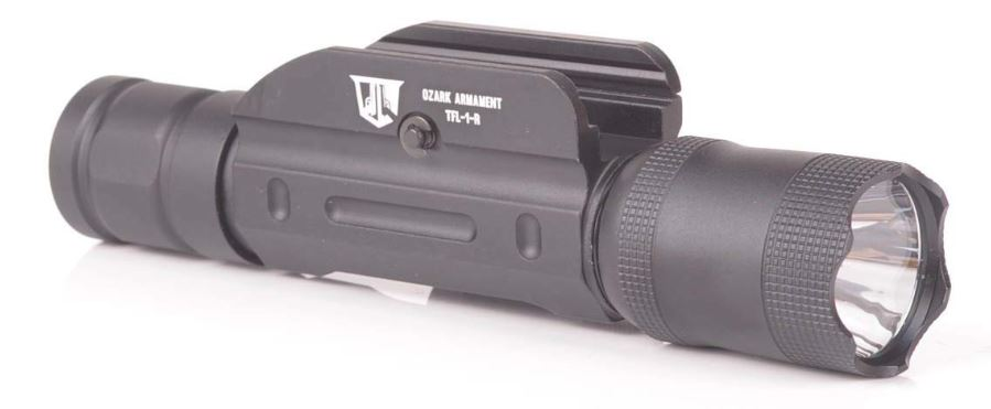 Ozark Armament Rail Mount LED Rifle Light