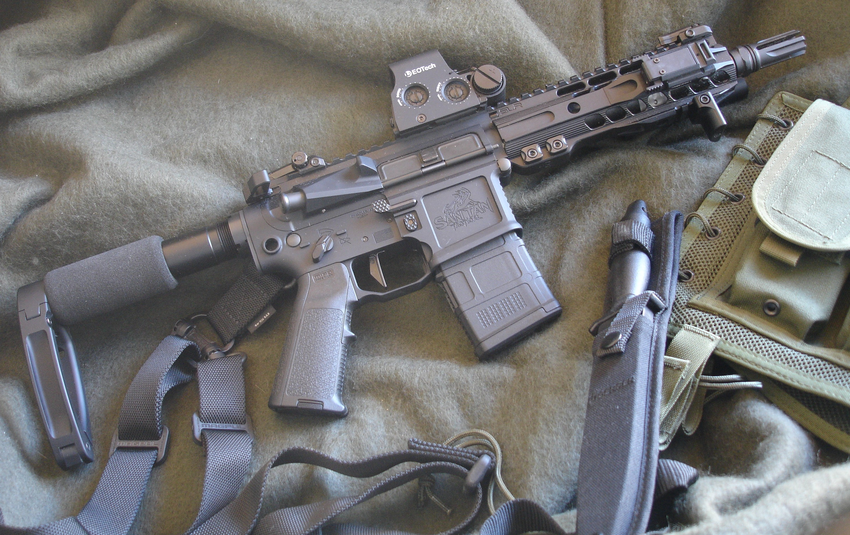 AR Pistol with Brace