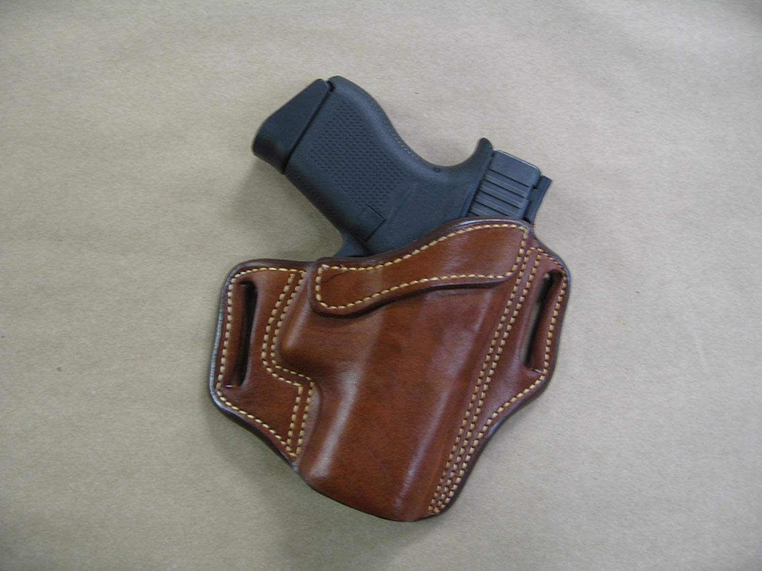 Azula OWB Leather Pancake Holster