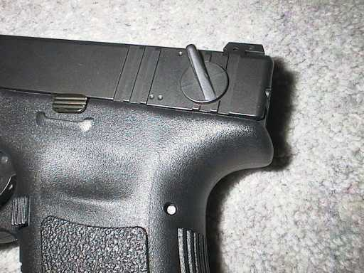 Glock 18 selector