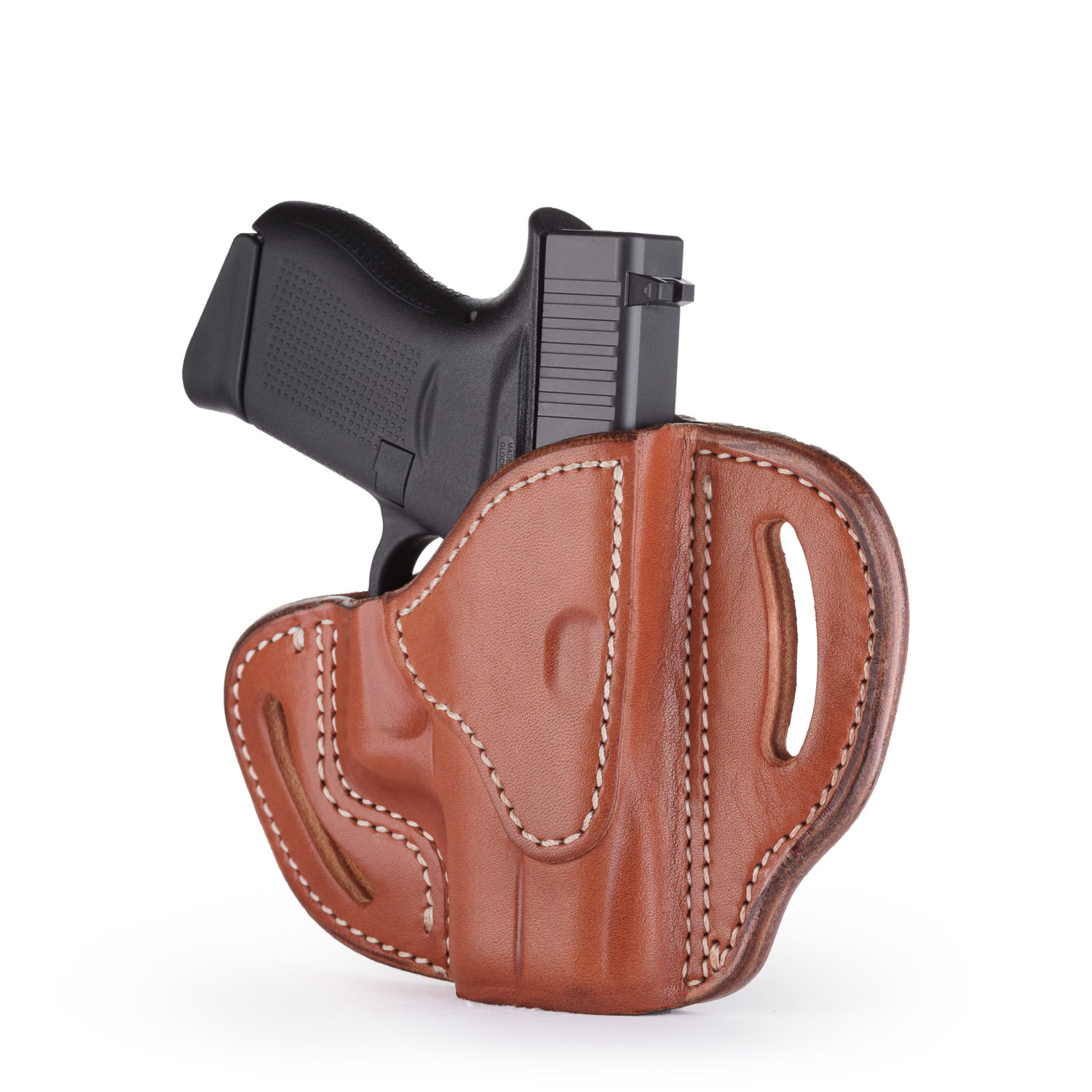 Glock 43 Leather Holster