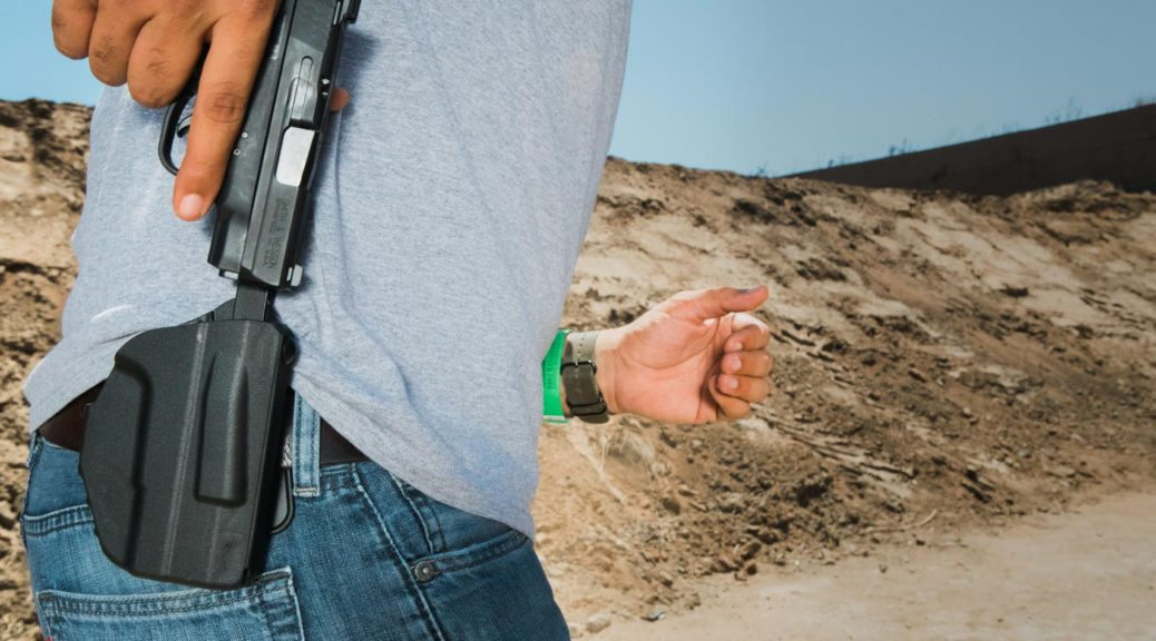 Positive grip holster