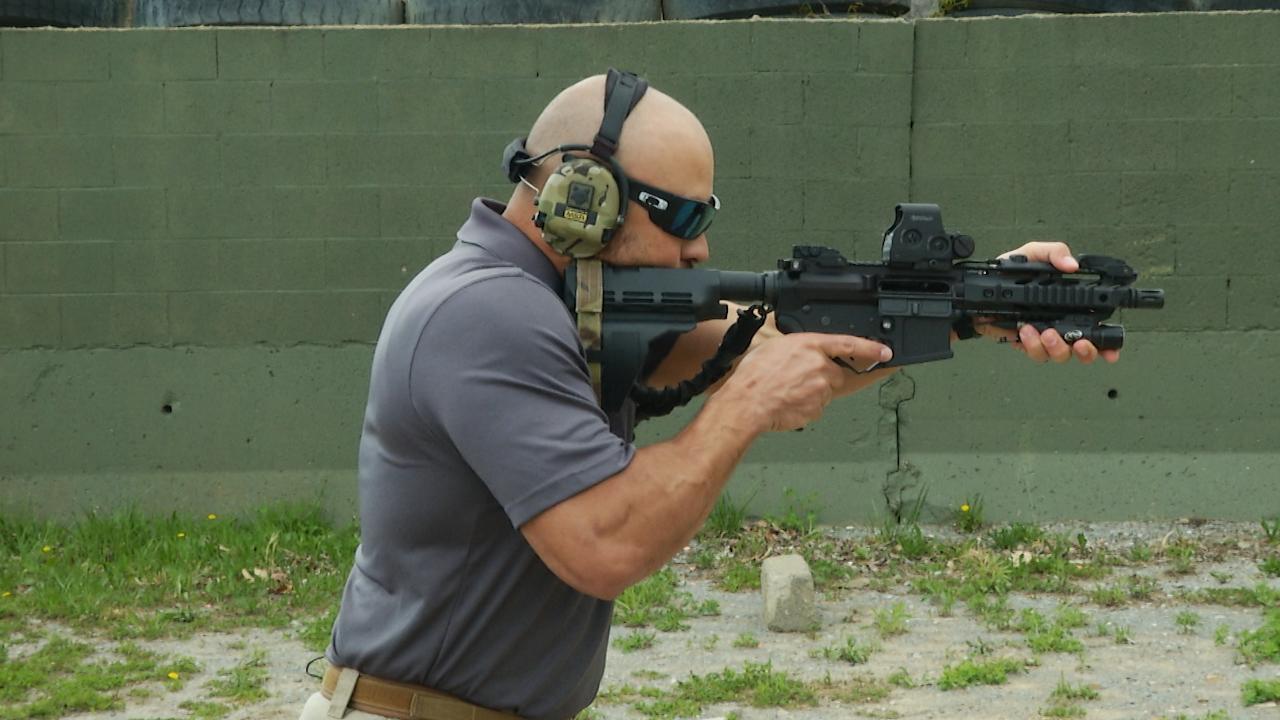 Shouldering an AR Pistol