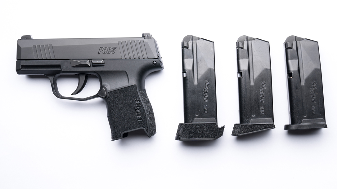 Sig Sauer P365 with magazines