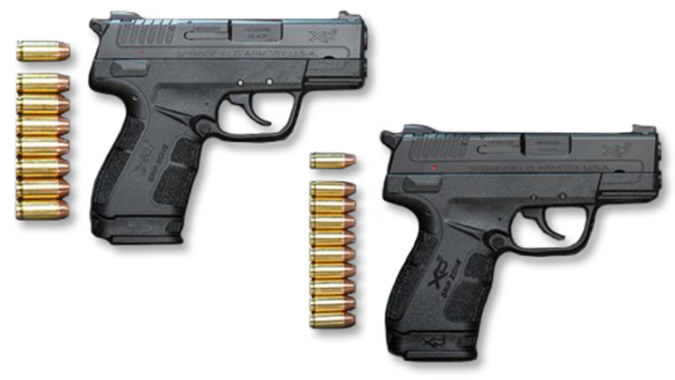 Springfield Armory XD-E 9mm vs 45