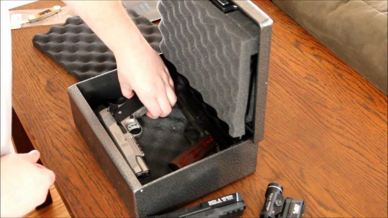 Fort Knox FTK-PB Simplex Handgun Safe Open