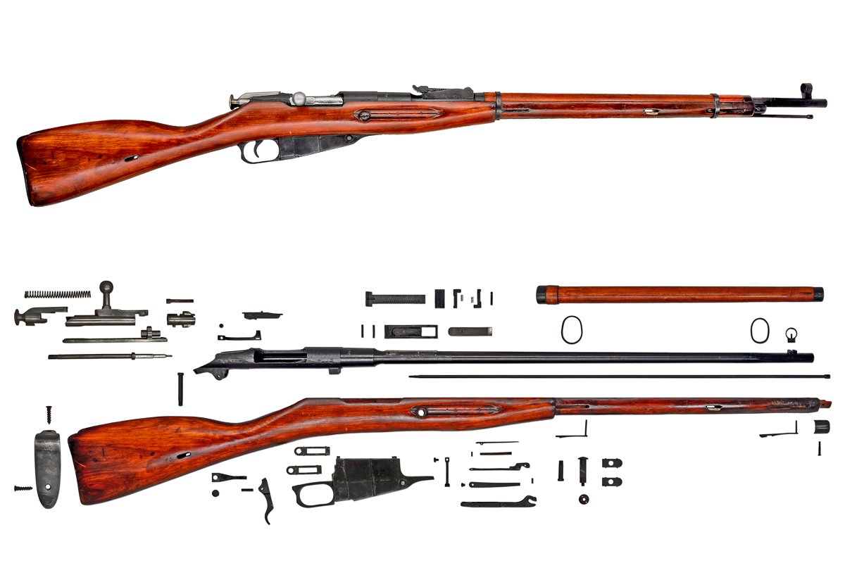 Moisin-Nagant Breakdown