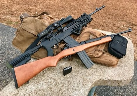 Ruger Mini 14 vs AR-15