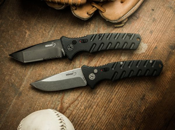 Boker Plus Strike Automatic compare