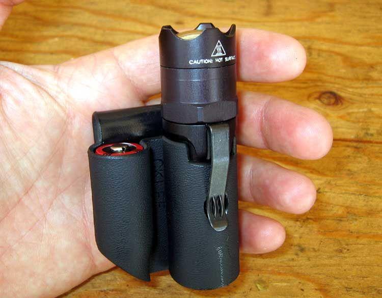 EDC light holster