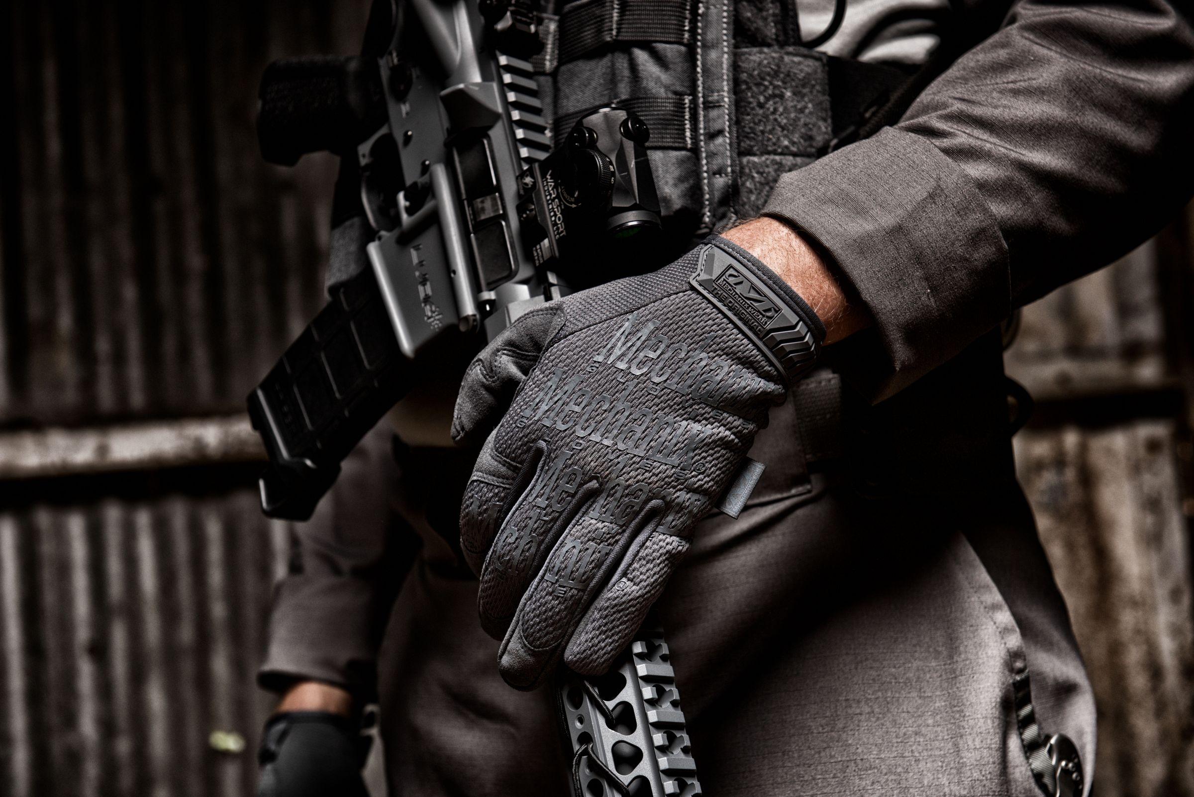 Mechanix FastFit Grey