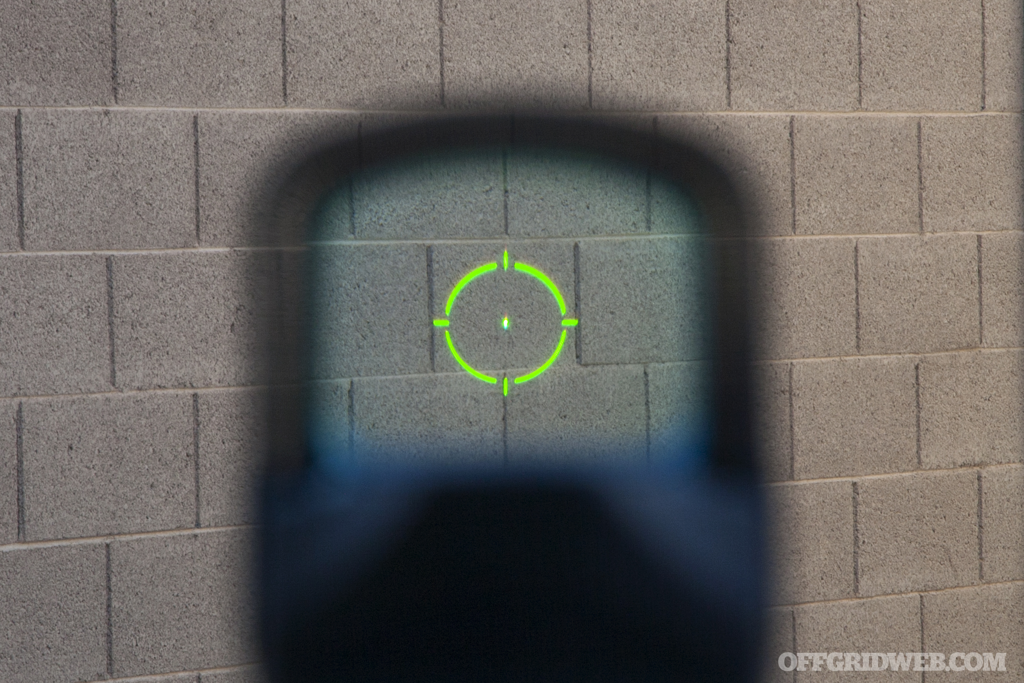 green holo sight