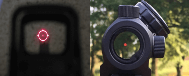 holo vs red dot