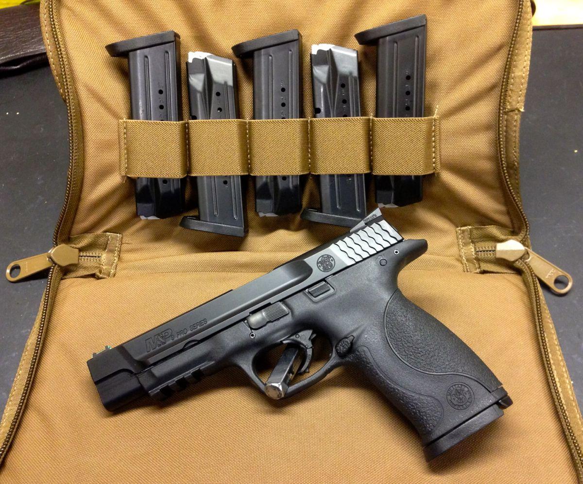 Gun on gun rug