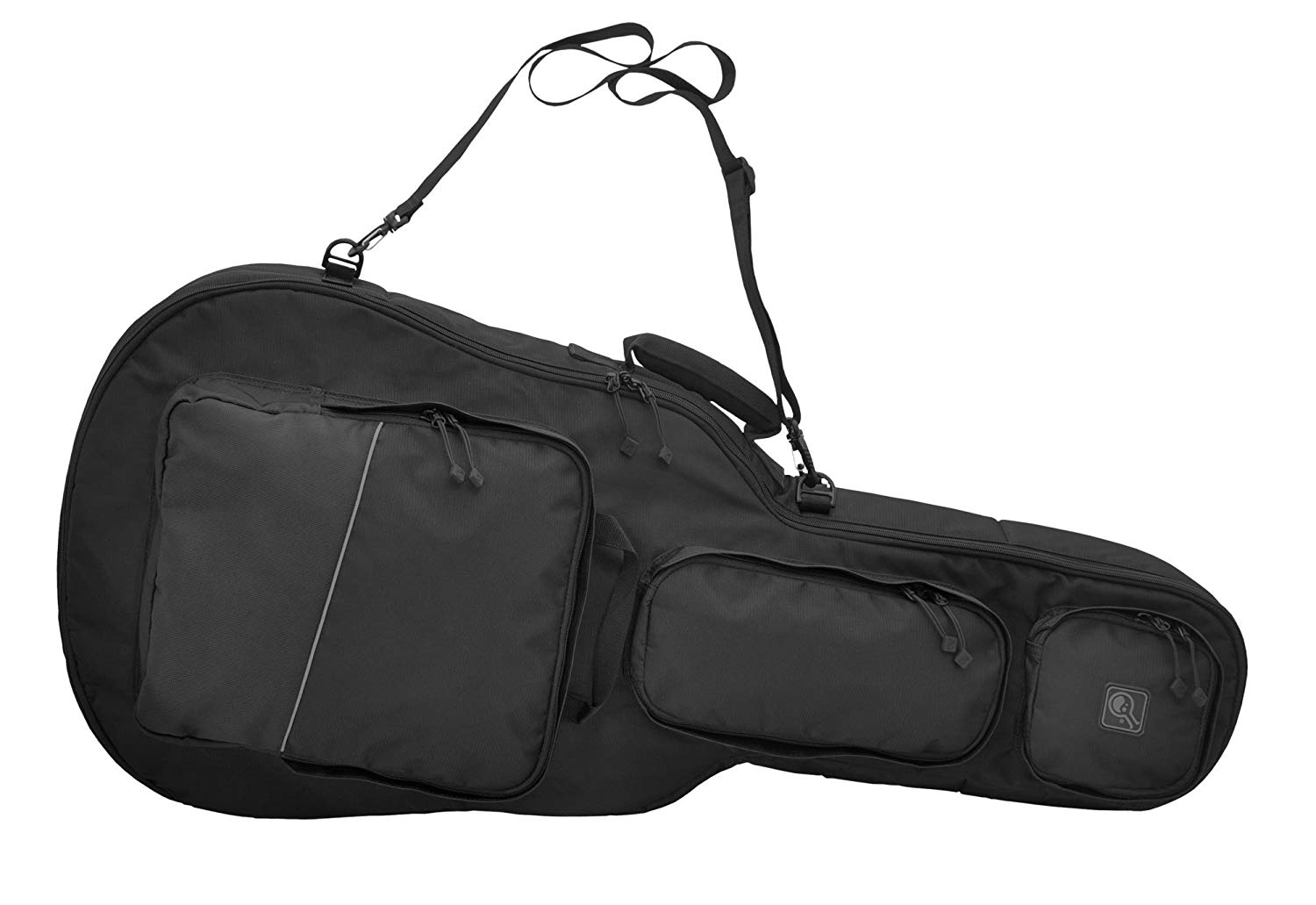 HAZARD 4 Battle Axe Guitar-Shaped Padded Rifle Case