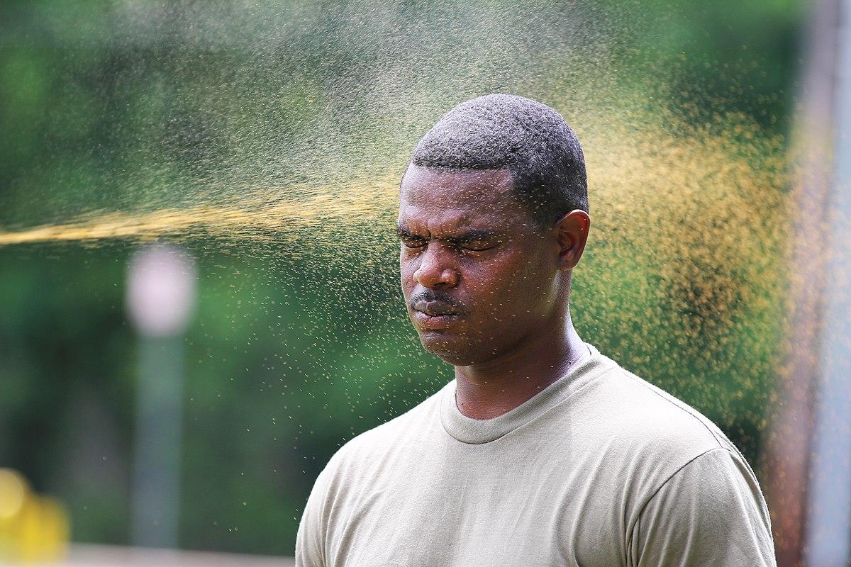 Pepper Spray Training