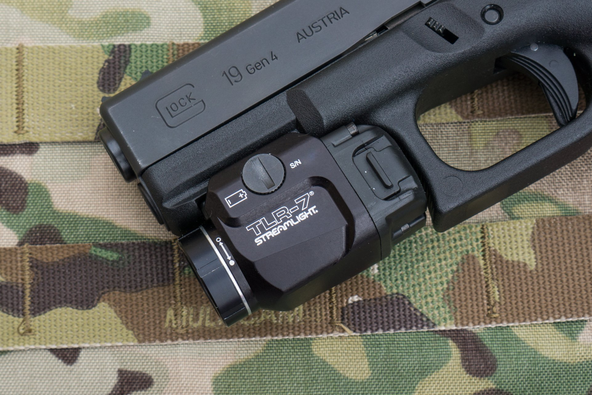 Streamlight TLR-7 Controls