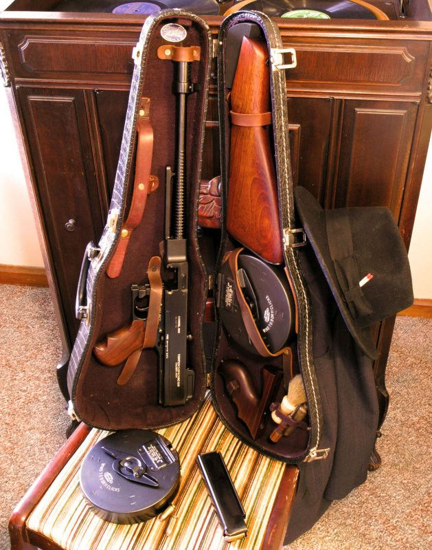 Tommy Gun in a Violin Case