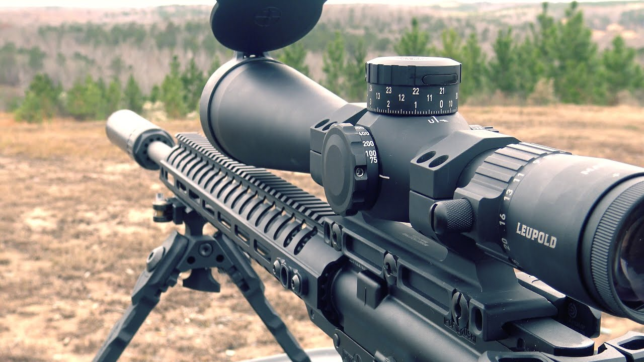Leupold Mark 5HD 5-25x56 Mounted