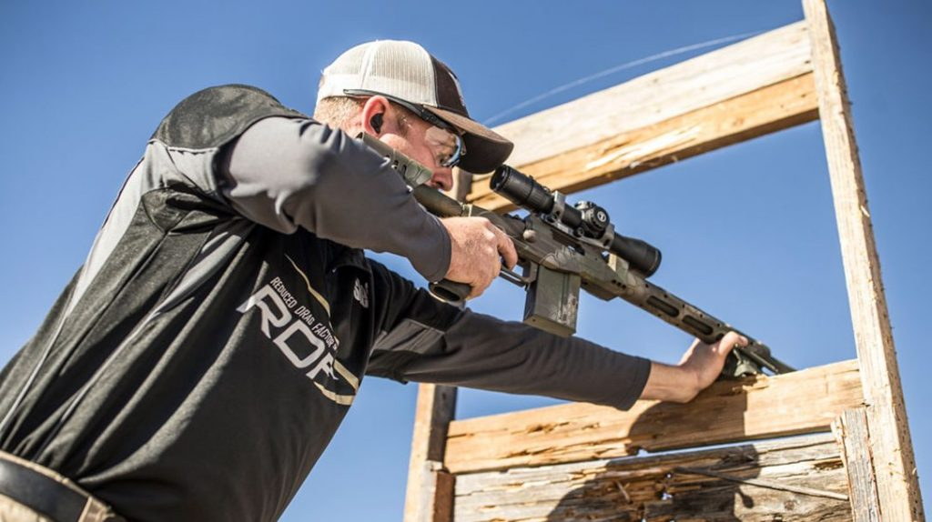 Long-range shooting competition