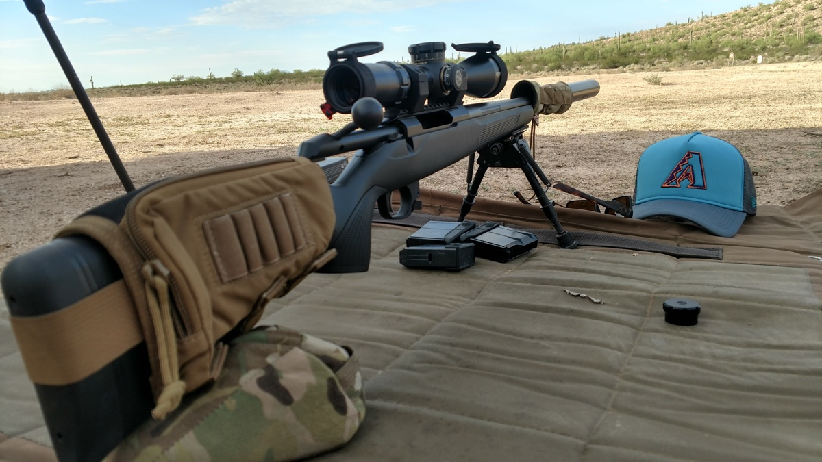 Tikka T3x CTR at the range
