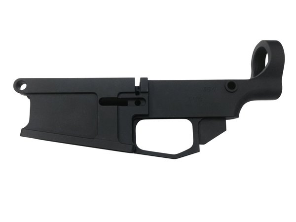80% Arms Black Anodized Billet 80% AR-10 Lower