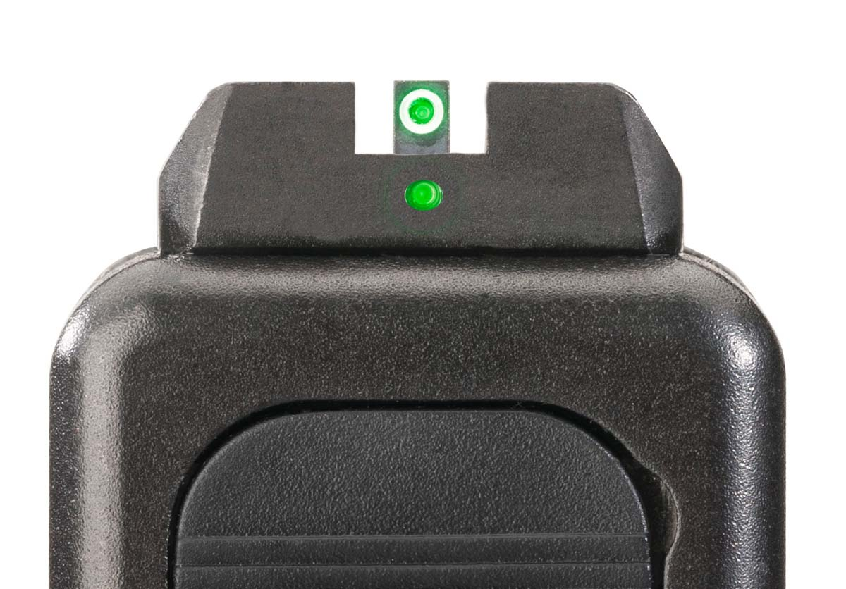 AmeriGlo Pro-IDOT Night Sights down sight view