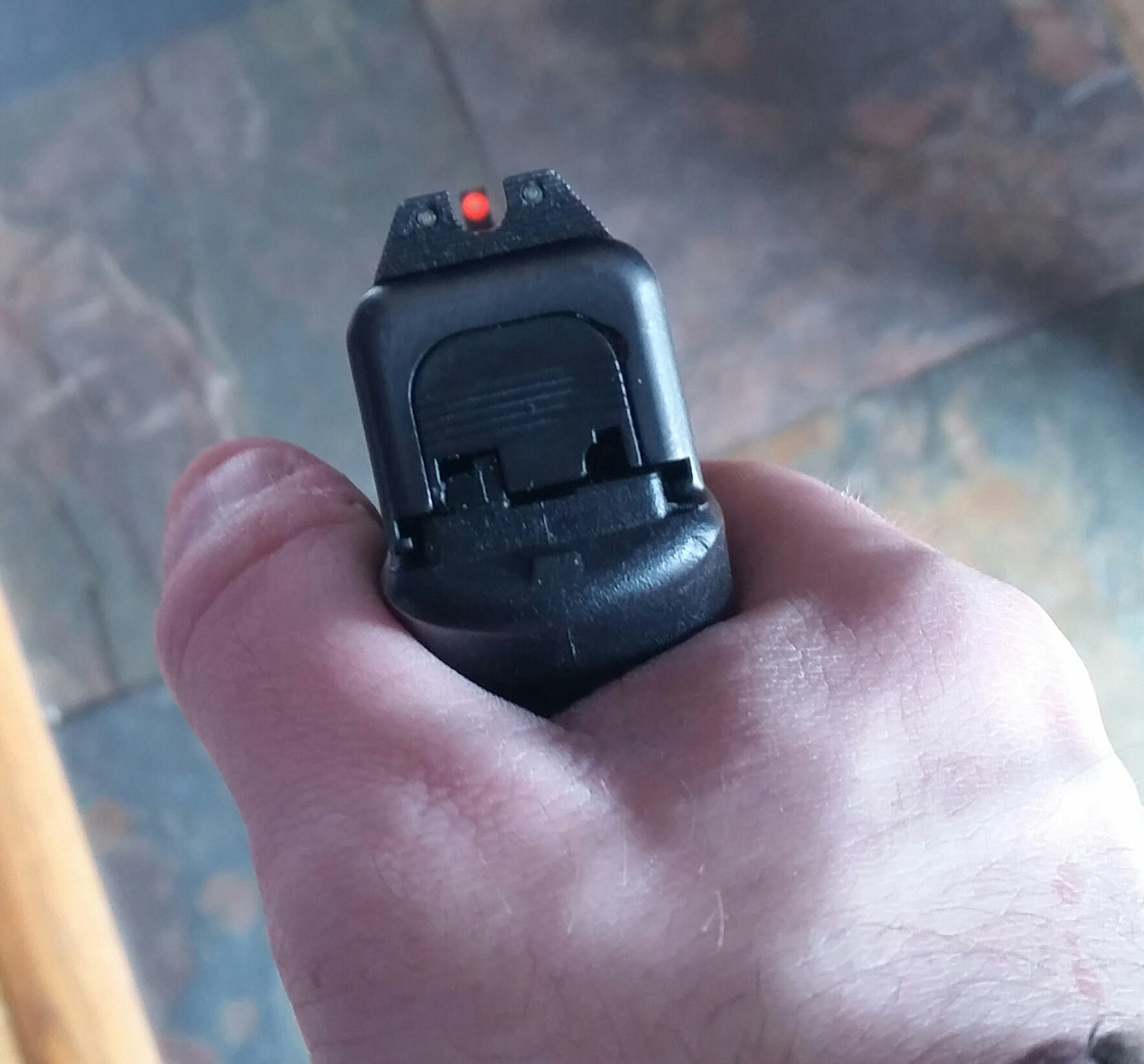 TruGlo Brite Site TFX Pro Night Sights down sight view