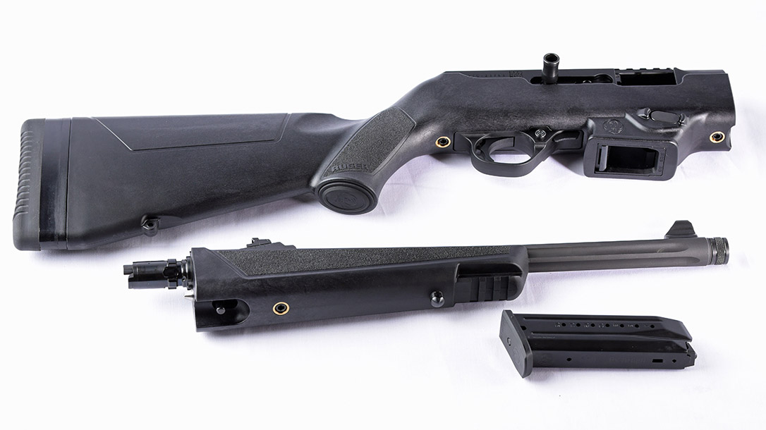 Ruger PCC Takedown with mag