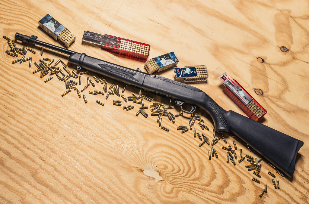22LR Rifle with Ammo