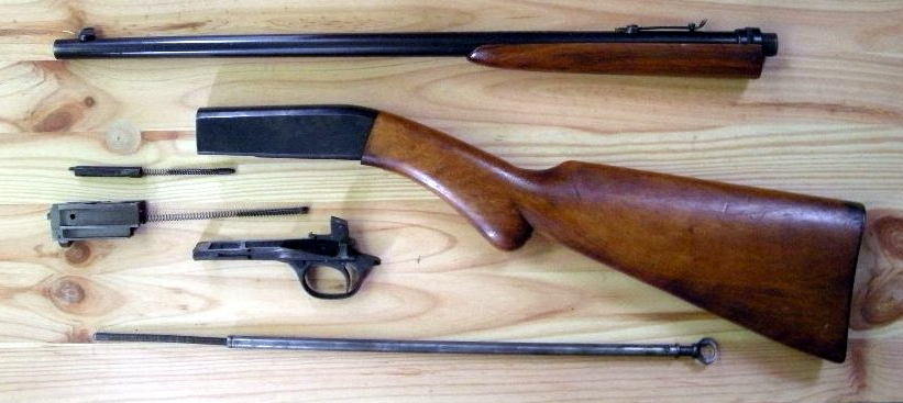 Browning_22_disassembled