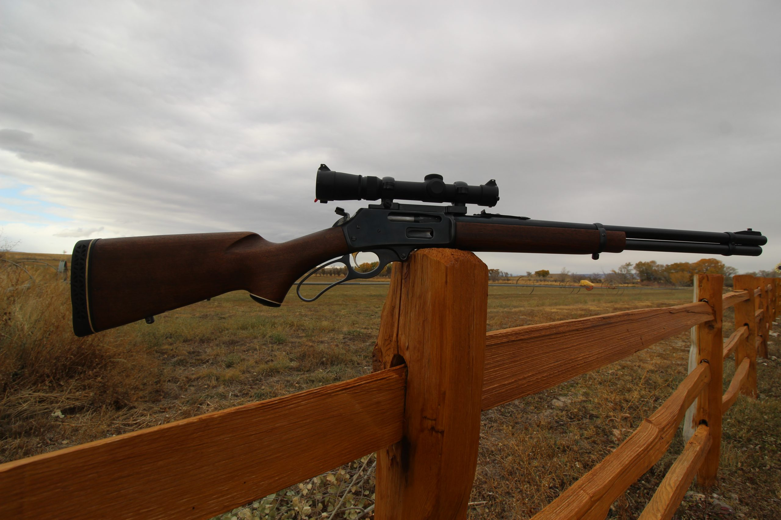Marlin Model 336 with scope