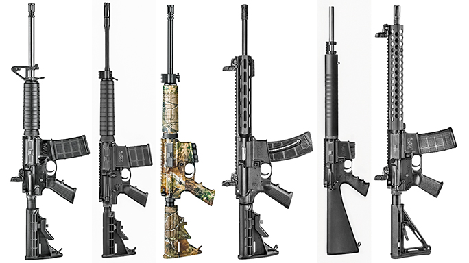 Smith & Wesson M&P 15-22 Sport Finishes