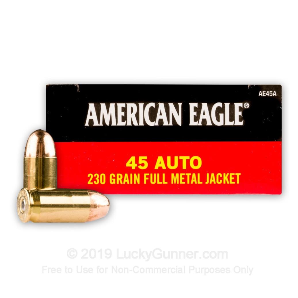 Federal Premium 230 gr .45 Auto American Eagle