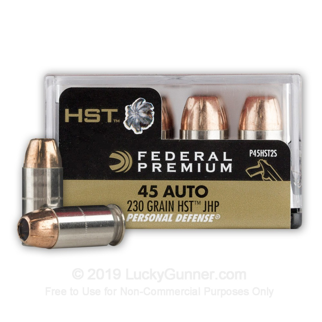 Federal Premium Personal Defense HST 230 gr .45 ACP